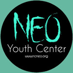 NEO YC Sticker - dark teal back 2